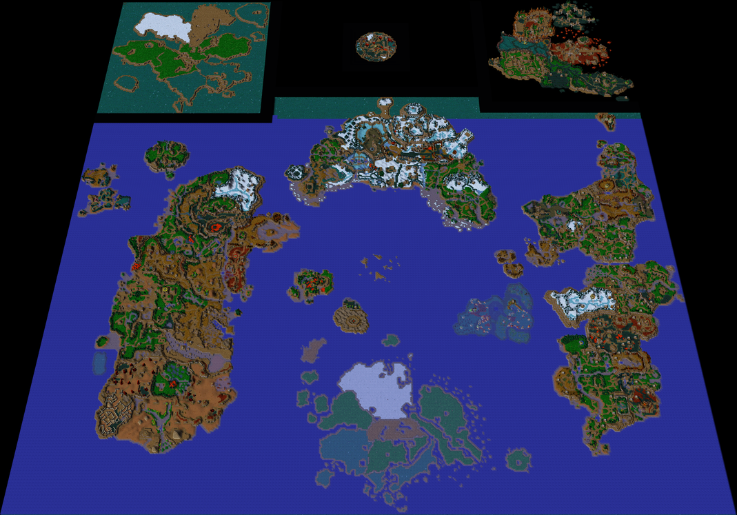 Warcraft III Azeroth 2 0 Map Screenshot by Ody chan on DeviantArt