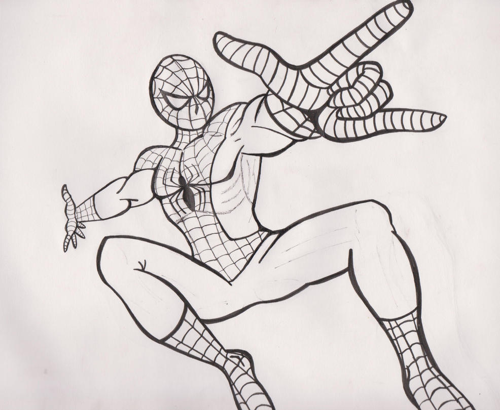 Spiderman by JediPinkiePie