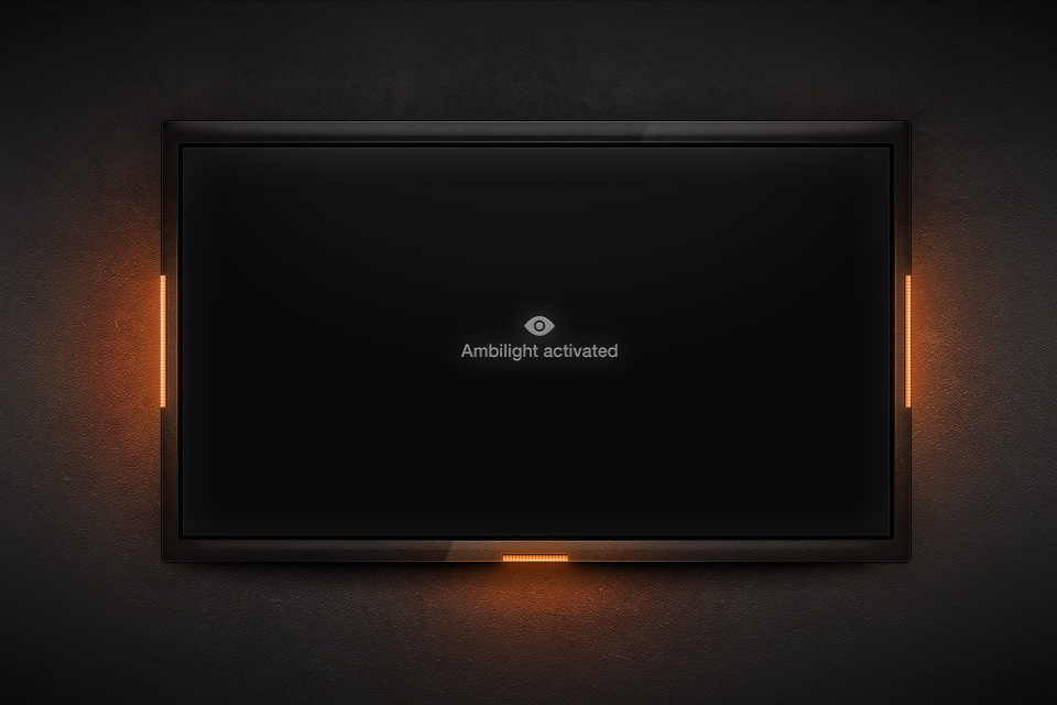 LED Ambilight TV by dannyknaack