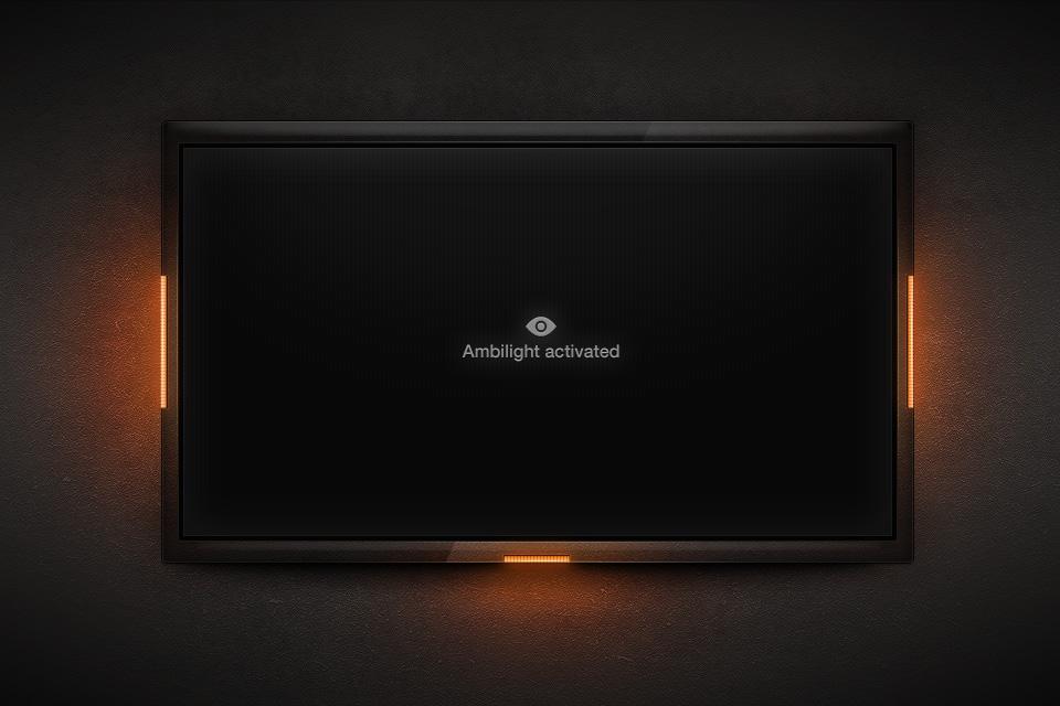 LED Ambilight TV by dannyknaack