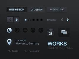 v3 UI elements by dannyknaack