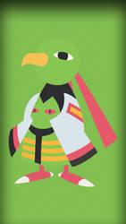 #178 - Xatu (cellphone size) by Bhrunno