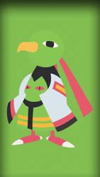 #178 - Xatu female (cellphone size) by Bhrunno