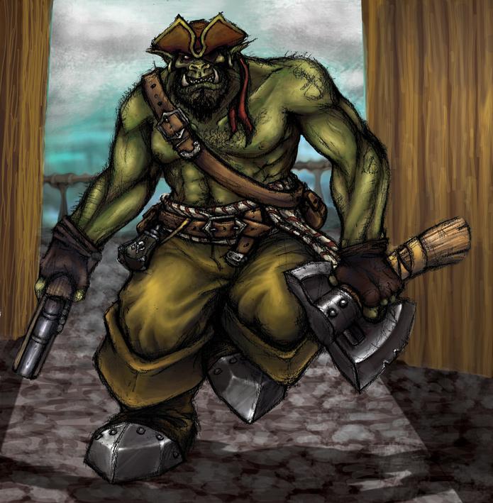 Kaptain Dreggutz Oddlog by FlintlockJack