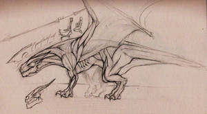 Draconic Anatomy by FlintlockJack