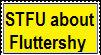 Anti-Fluttershy stamp by Ramen11111