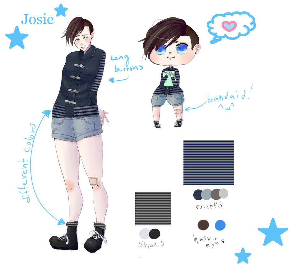 Josie Character Sheet by Ramen11111