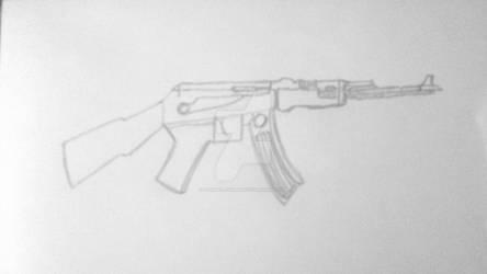 AK-47 Assault Rifle.