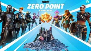 Fortnite Zero Point Battle Pass Now with DBH