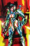bounty hunter armorex tokai corps female by HARKHAN71