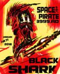 space pirate black shark by HARKHAN71