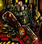 metal legion manowar armor by HARKHAN71