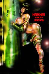 goddess Nephtis by HARKHAN71