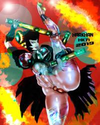 Chinagirl kung fu gang by HARKHAN71