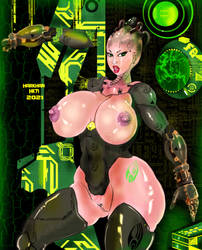Queen Borg by HARKHAN71