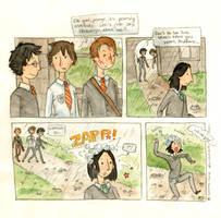 Teen Remus Lupin by Alomoria on DeviantArt