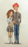 Hermione's men: Ron