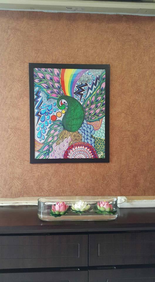 Colourful world of peacock by kashmira mehta doshi by kashunutz