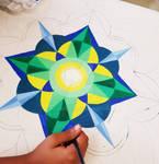 Mandala Design By Ghanjani Jain