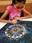 Mandala By Student Tia Ankur Shah