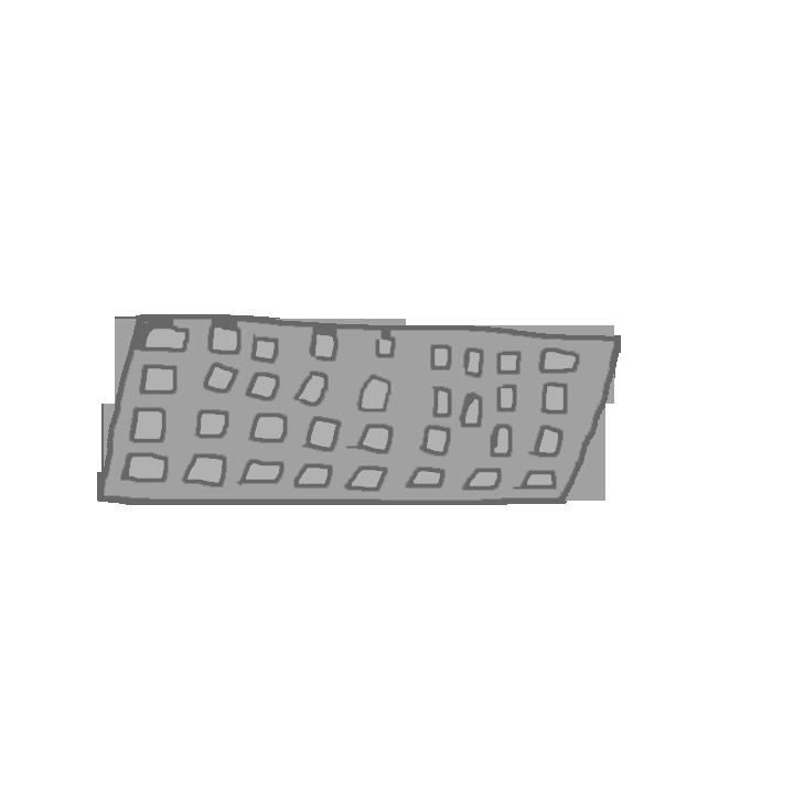 Keyboard Asset for slainender by WellRead
