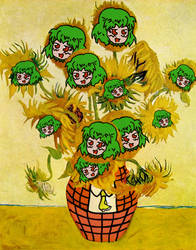 Van Yuugh: Sunflower by Berto90