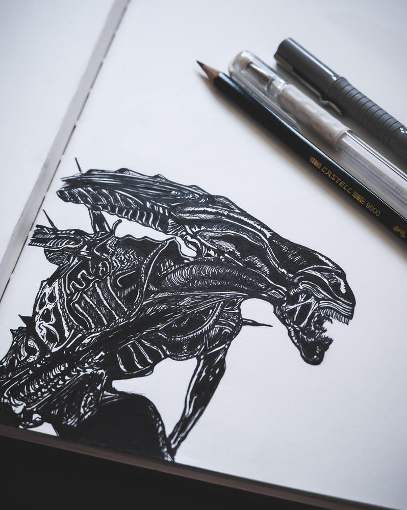 Alien by Andrzej-Kulig
