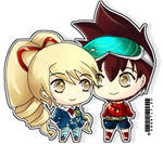 Tiny Chibis by Sweetly25