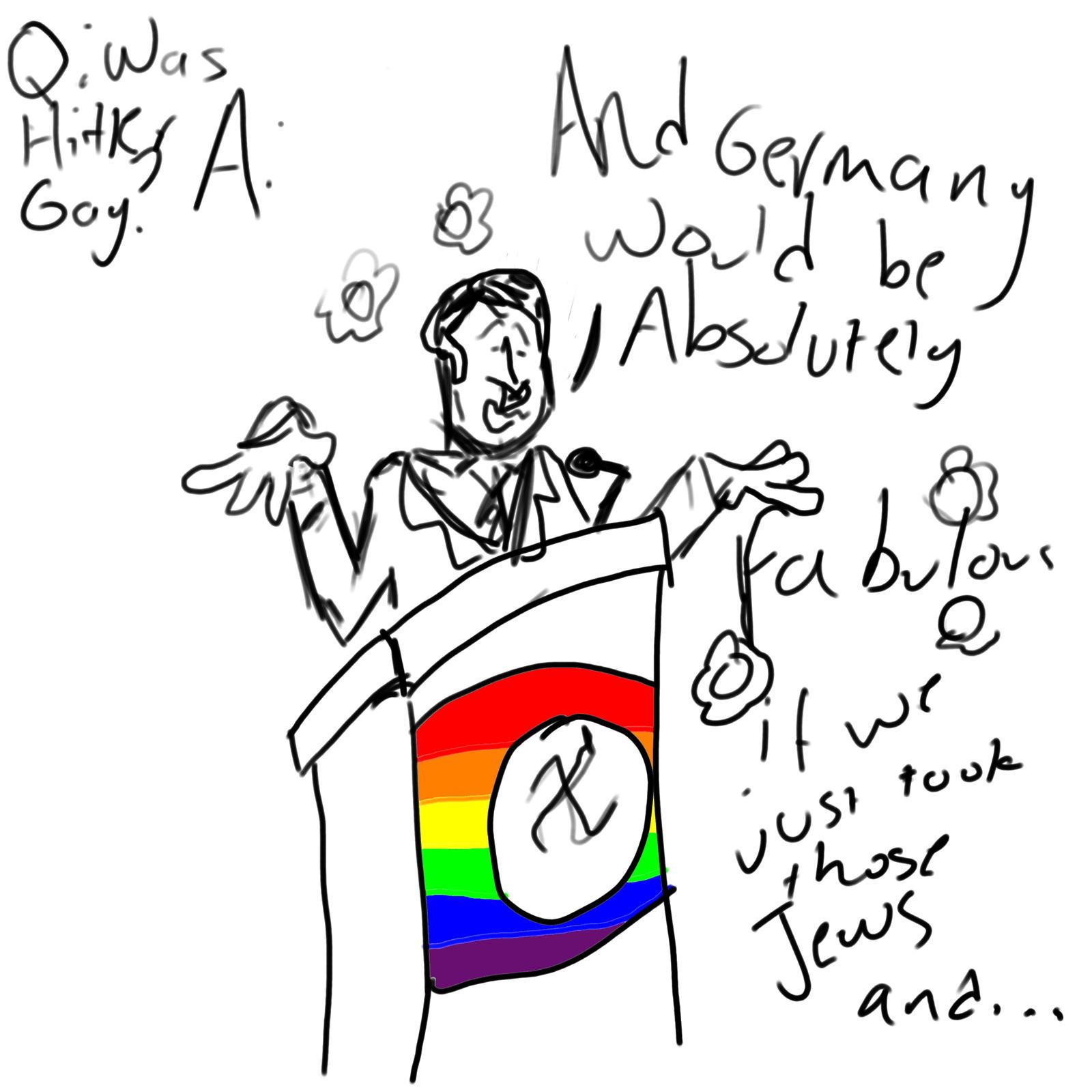 Adult Toons gay toon art