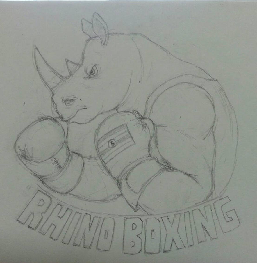 Rhino Boxing by DTrain2695