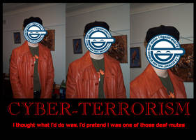 Cyber-terrorism Motivator by peanuthorst