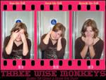 Three Wise Monkeys motivator
