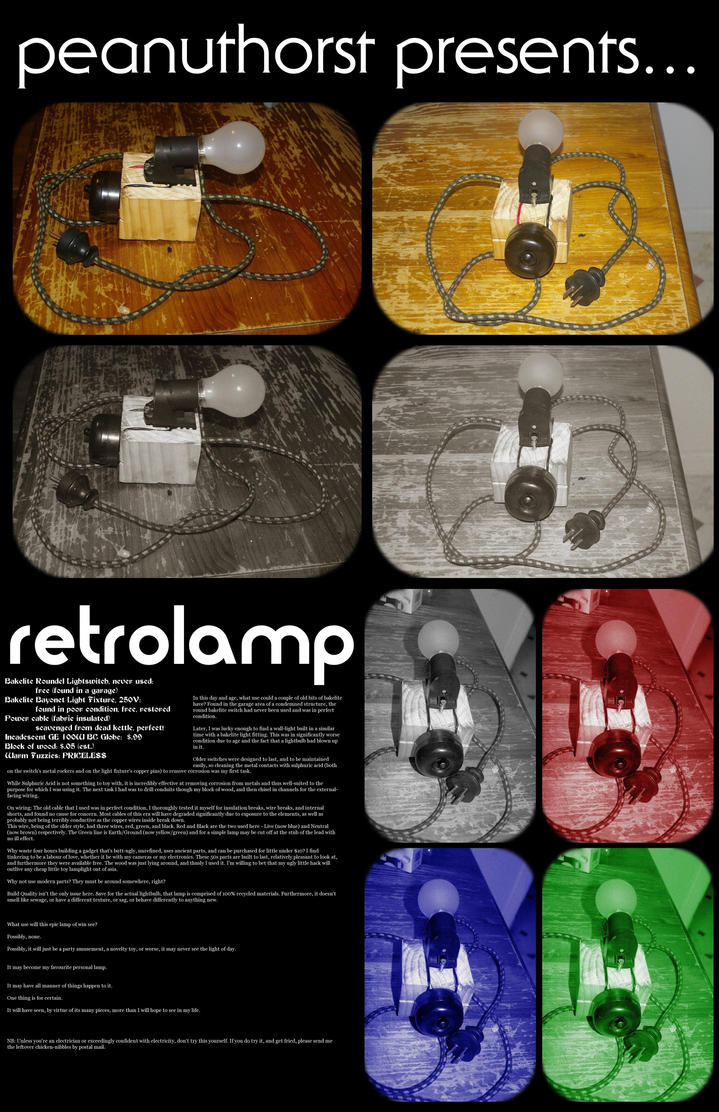 retrolamp by peanuthorst