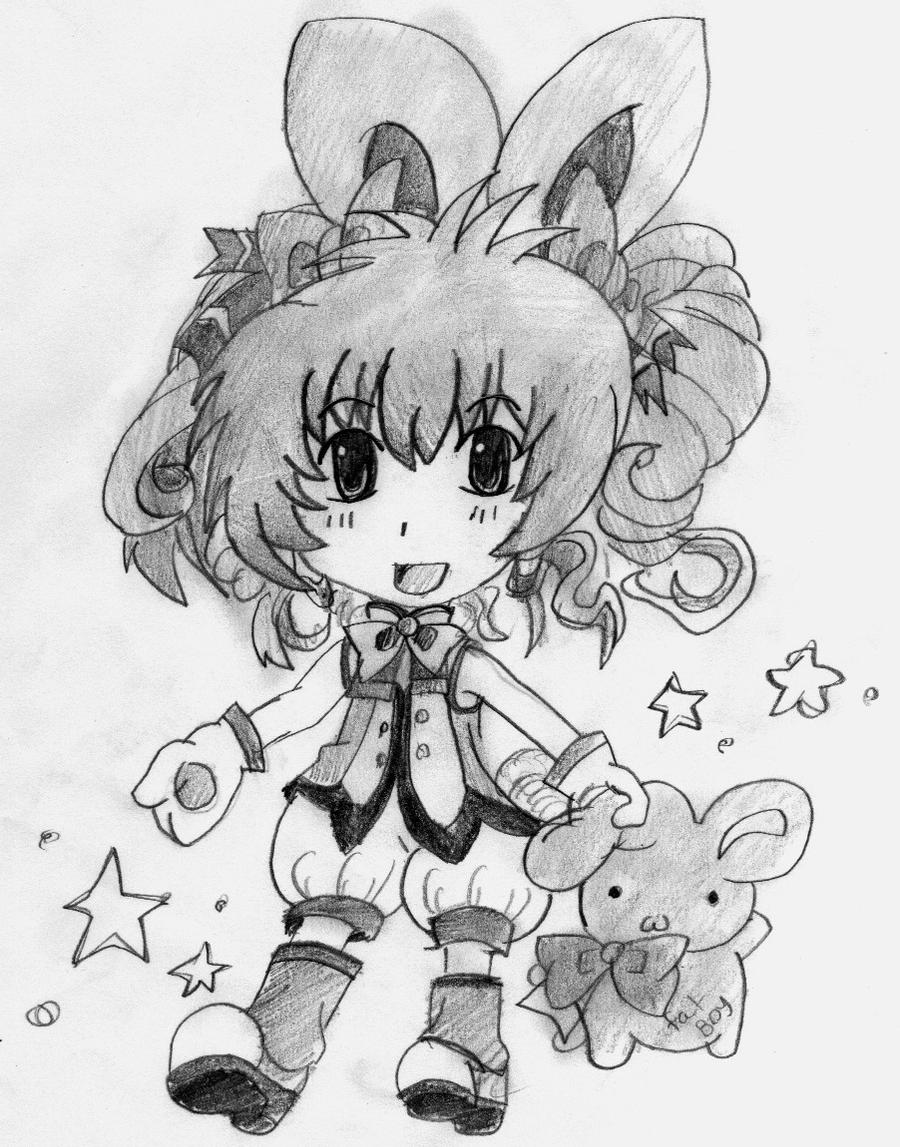 Chibi girl by Nire-eriN on DeviantArt