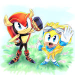 Mighty and Ray