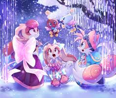 Sonic Shining Stars - Snowy evening