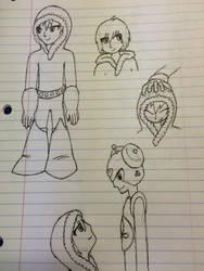 Iceman Sketch Dump by LynnDoubleLegacy