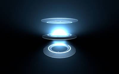 Tron - Volumetric Light Approximation (3D-WebGL) by BKcore