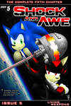 Shock and Awe - Issue 5: 'Living Weapons' Cover