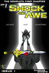 Shock And Awe - Issue 1: 'Chasing Ghosts' Cover