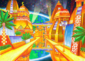 Tropical Resort - Sonic Colors by UnderworldCircle