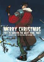 Merry Christmas, ya dogs! by MaximLardinois