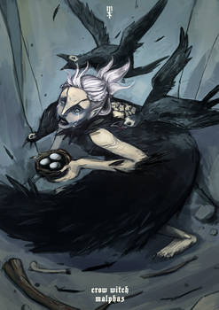 Lords of shadow: Crow witch Malphas
