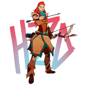 Horizon Zero Dawn - Aloy