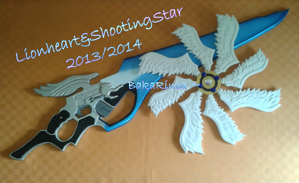 Lionheart and ShootingStar #02 by BakaRinoa
