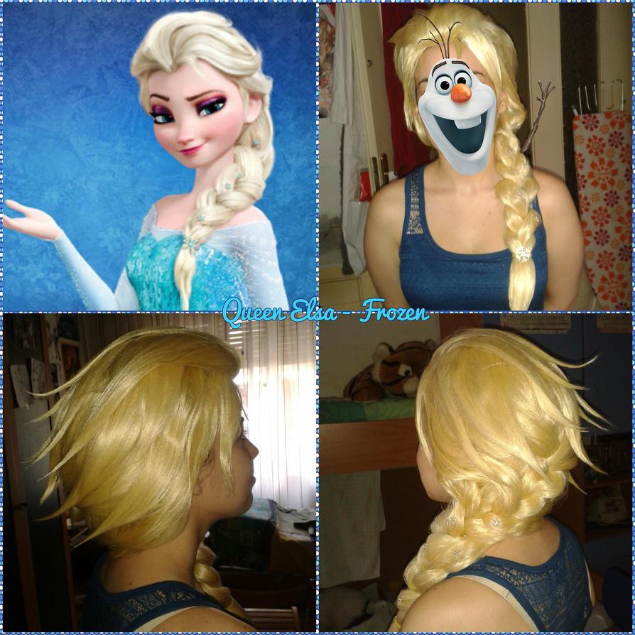 Elsa - Frozen wig by BakaRinoa