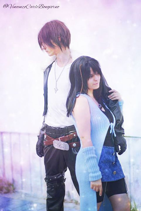 Squall and Rinoa by BakaRinoa