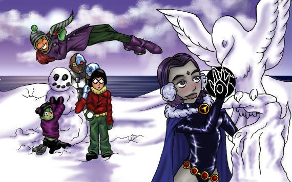 Snowman by Raving-Lunatic