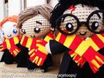 Arjeloops Harry Potter and Friends Crochet Dolls
