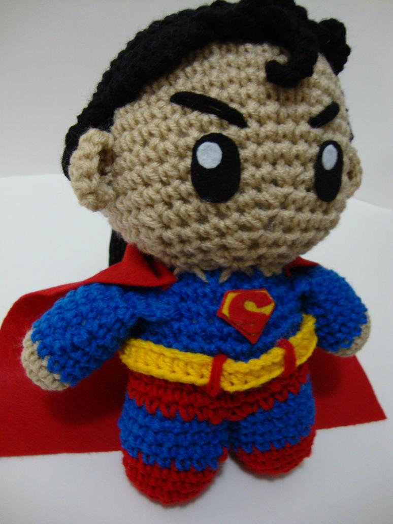 Knitting Pattern Superman Doll : Arjeloops Superman Crochet Doll by Arjeloops on DeviantArt